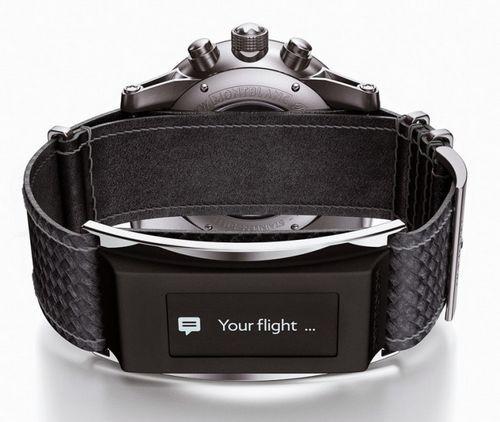 Ремешок montblanc e-strap сделает ваши часы умными
