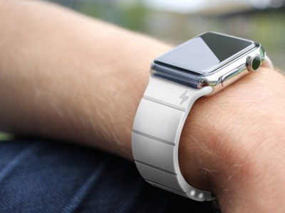 Ремешок reserve strap позволит apple watch проработать 30 часов от одного заряда