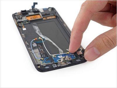 Samsung galaxy s6 edge получил низкие оценки ремонтопригодности