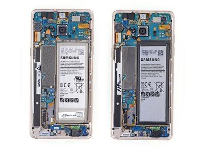 Samsung galaxy s7 попал в руки специалистов ifixit