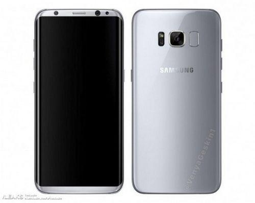 Samsung galaxy s8 засветился на пресс-рендере и живом фото