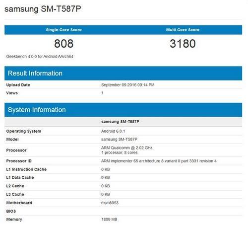 Samsung готовит к анонсу бюджетный планшет на snapdragon 625 soc