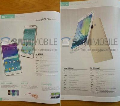 Samsung готовится начать продажи galaxy grand max и galaxy a7 в южной корее
