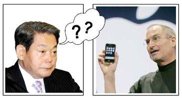 Samsung не считает iphone соперником