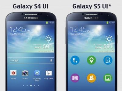 Samsung показала иконки приложений из galaxy s5