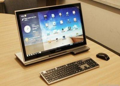 Samsung разработала оригинальный моноблочный компьютер series 7