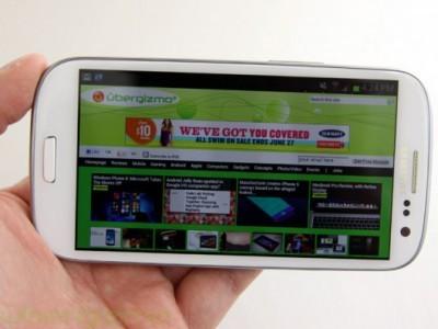 Samsung снова запустила обновление android 4.3 для galaxy s3
