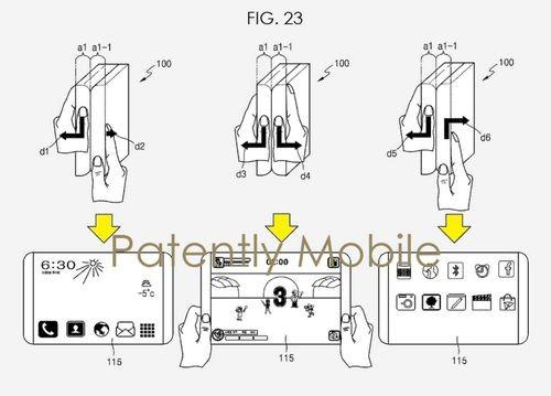 Samsung создает гибкий планшет