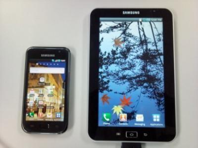 Samsung выпустит конкурента ipad на базе android