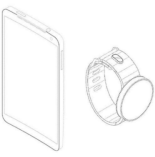 Samsung застолбил патент на изогнутые смартфоны