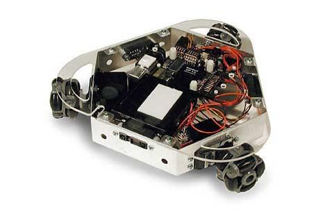 Сделай сам: собственный робот с кпк palm вместо мозгов