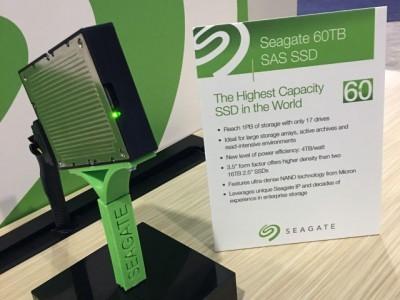 Seagate выпустит ssd-накопитель с рекордным объёмом памяти в 60 тб