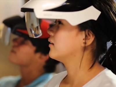 Seer - шлем дополненной реальности с широкими углами обзора
