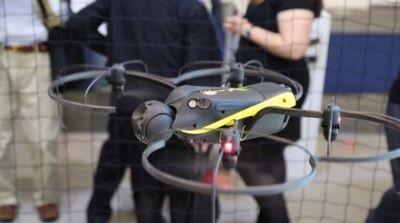 Sensefly разработала беспилотник exom, использующий оптические и ультразвуковые датчики