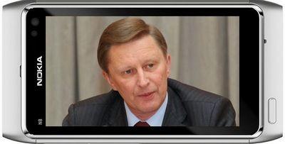Сергей иванов: телефоны nokia получат глонасс