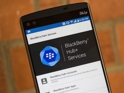 Сервисы blackberry hub+ стали доступны большему числу android-устройств