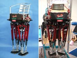 Шагающее кресло wl-16 идёт к японским инвалидам