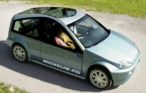 Шинники из michelin изобрели самодостаточное колесо