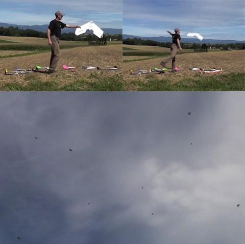 Швейцарцы научили роботов летать большой стаей