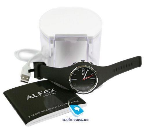 Швейцарские «умные» часы alfex connect
