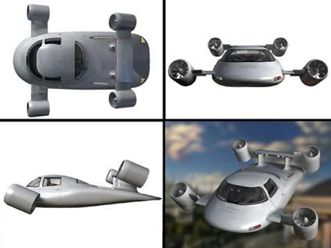 Skyrider x2r ненастоящий летающий автомобиль