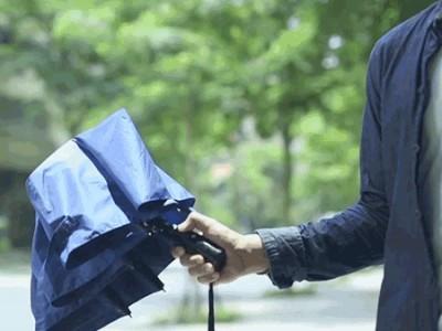 Смарт-зонт haz umbrella сообщит владельцу о приближающейся непогоде