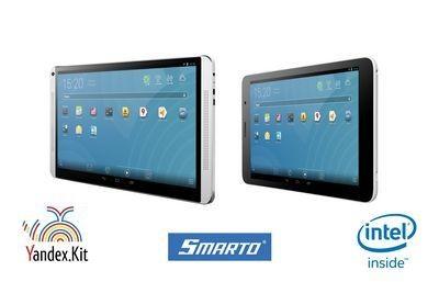 Smarto 3gd52i и 3gdi10 - первые планшеты на базе прошивки яндекс.кит