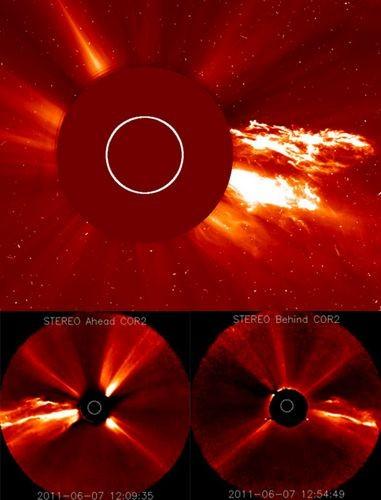 Солнце подарило учёным гигантский выброс плазмы