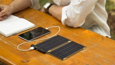 «Солнечная бумага» yolk — самая тонкая пластинка с фотоэлементами