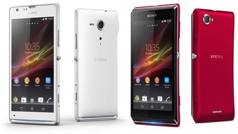Sony официально представила смартфоны sony xperia sp и sony xperia l