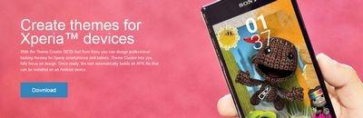 Sony выпустила приложение для создания персонализированных тем