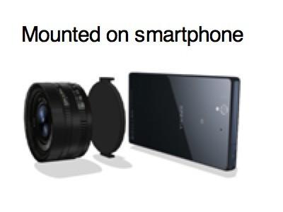 Sony выпустит для смартфонов объектив со встроенным сенсором