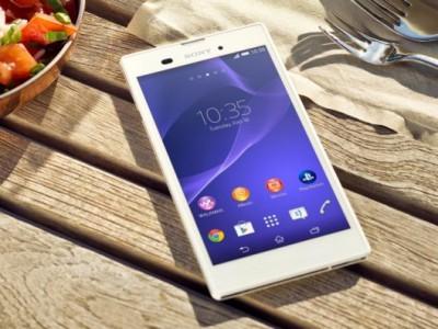 Sony xperia t3 - 5,3-дюймовый смартфон с lte-модулем