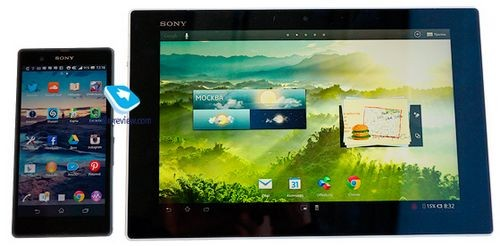 Sony xperia tablet z: первый взгляд