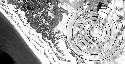 Спутник нашёл атлантиду в испанских болотах