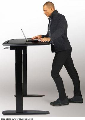 Стол, автоматически меняющий свою высоту ради заботы о здоровье работника