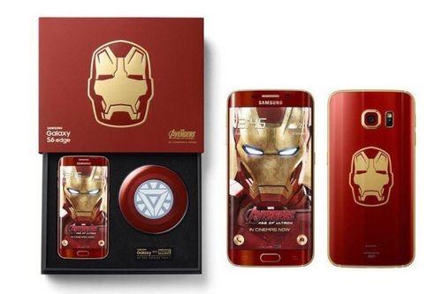 Такой красивый samsung galaxy s6 edge iron man limited edition