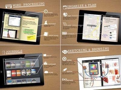 Tapose: аналог microsoft courier появился на ipad