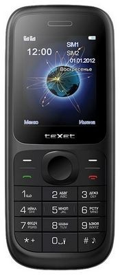 Texet tm-d107 - dual-sim телефон для звонков
