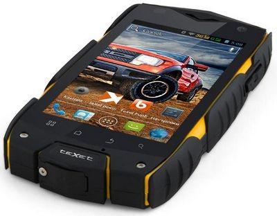 Texet x-driver: смартфон с классом защиты ip68