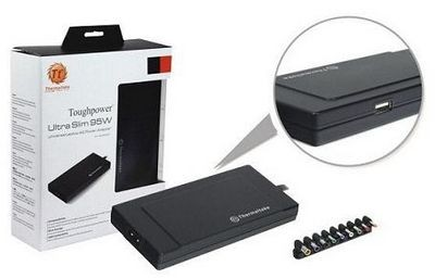 Thermaltake представляет универсальное зарядное устройство для ноутбуков