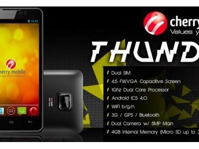 Thunder - двухъядерник на ics от cherry mobile