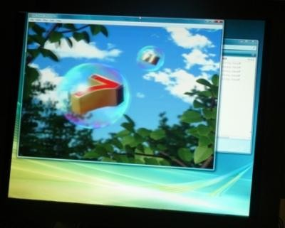 Toshiba показала монитор для просмотра 3d без очков