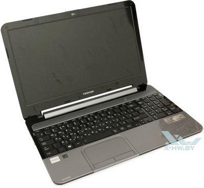 Toshiba показала ноутбук с изменяемым цветом корпуса