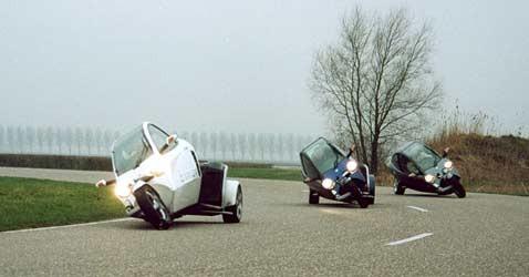 Трицикл clever: европа изобретает существующий автомобиль