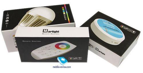 Умный дом. светодиодные лампы marlight с wi-fi-управлением
