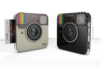 В 2014 году polaroid выпустит «социальный» фотоаппарат socialmatic