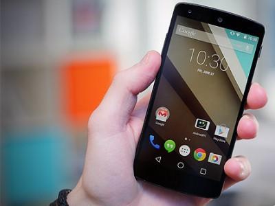 В интерфейс android l внесут некоторые изменения к официальному релизу