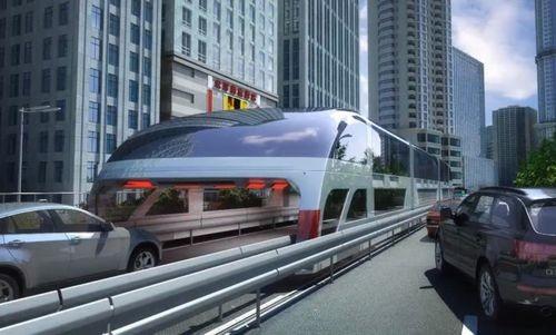 В китае началось испытание инновационного вида транспорта