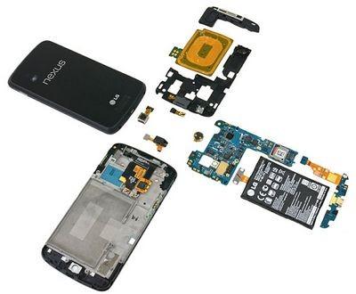 В lg nexus 4 нашли бездействущий чип lte